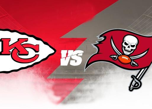 Tampa Bay Bucaneers vs Kansas City Chiefs Super Bowl LV