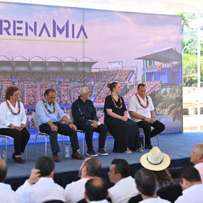 Presentan el avance de obra de lo que será el Abierto Mexicano de Tenis 2021
