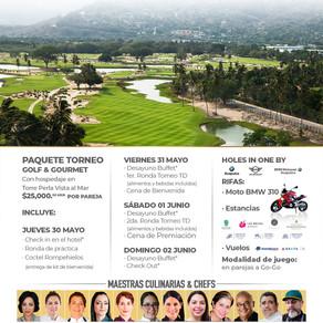 """Segunda edición del torneo de Golf Gourmet, """"Entre Vino, Mar y Tierra"""""""