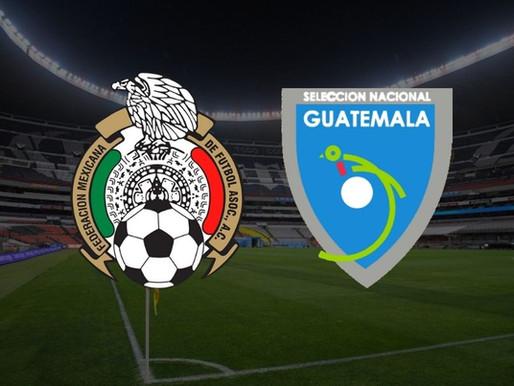 México frente a Guatemala en la Copa Oro de la Concacaf