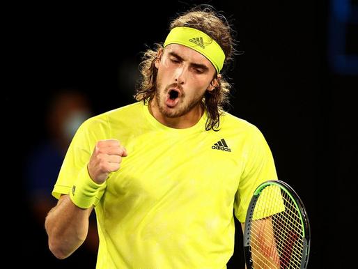 Stefanos Tsitsipás sube al puesto 5 del ranking de la ATP