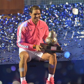 Rafael Nadal campeón del Abierto Mexicano de Tenis en Acapulco