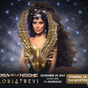 """Gloria Trevi será la """"Diosa de la noche"""" en Forum Mundo Imperial"""