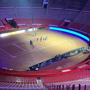 Todo esta listo para que la Plaza México reciba a Roger Federer y Alexander Zverev