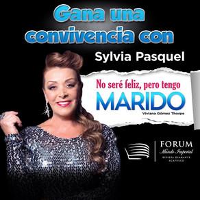"""Sylvia Pasquel """"No seré feliz, pero tengo Marido"""" en Acapulco"""