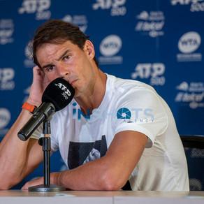 Rafael Nadal da sus primeras palabras en el Abierto Mexicano de Tenis 2020