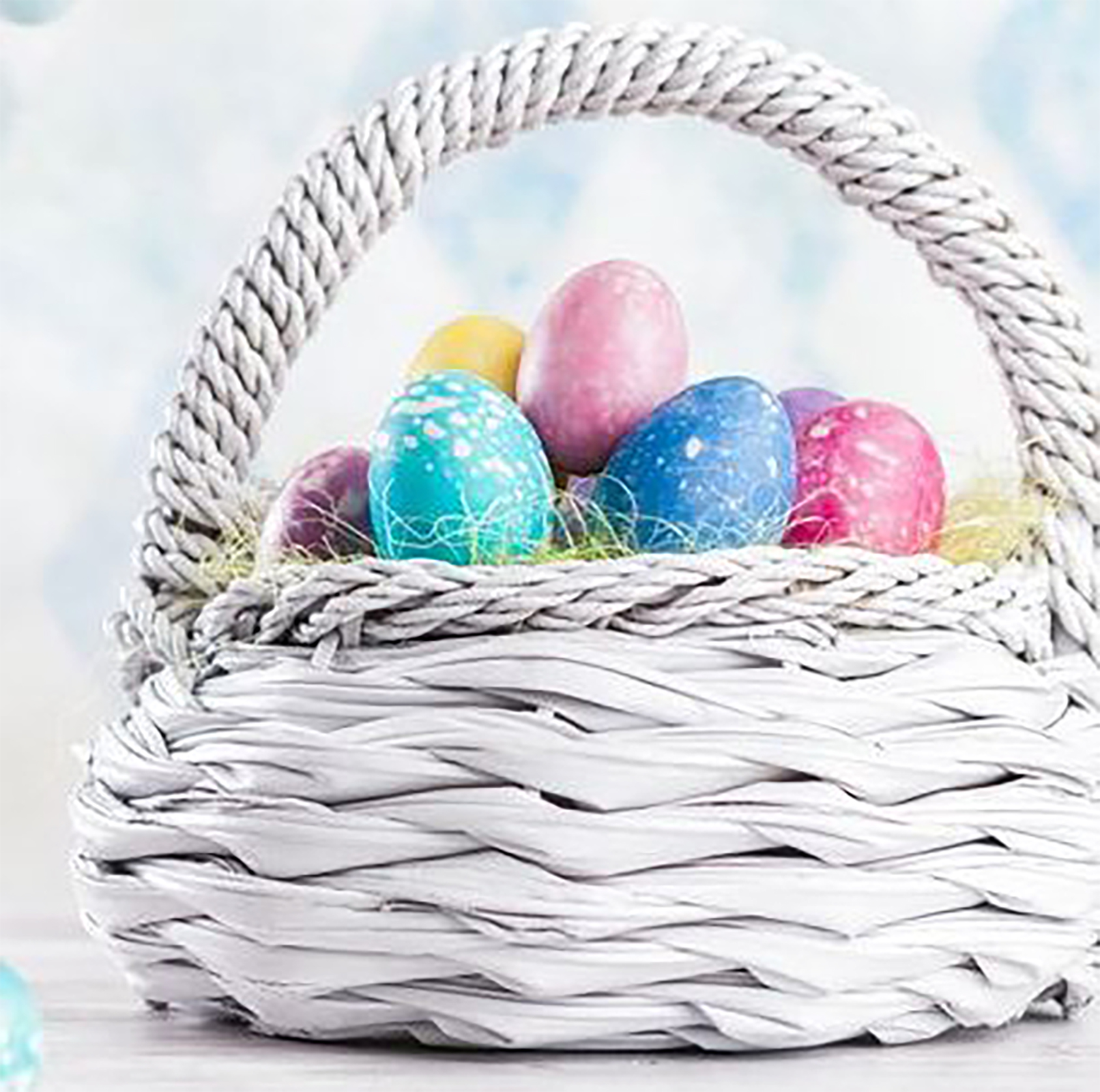 We have lots of baskets perfect for Easter
