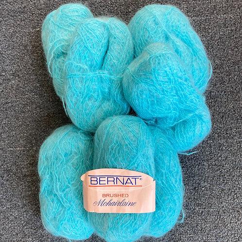 Mohair Yarn - Blue
