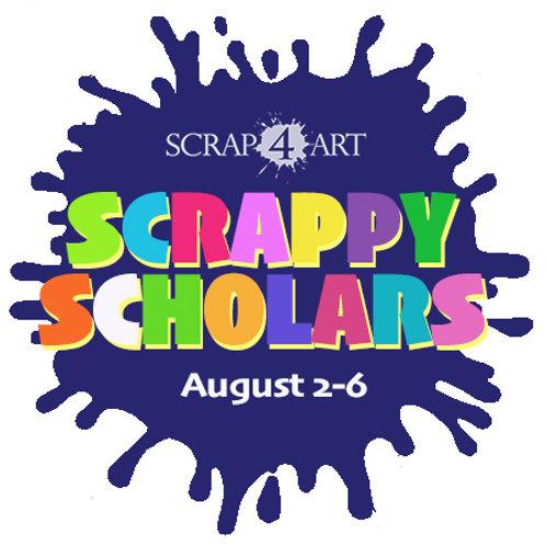 SCRAPPY SCHOLARS - August 2-6 / Grades 1-6