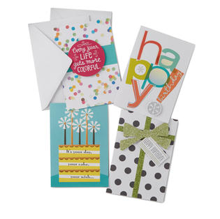 CARDS, WRAPPING PAPER, RIBBON