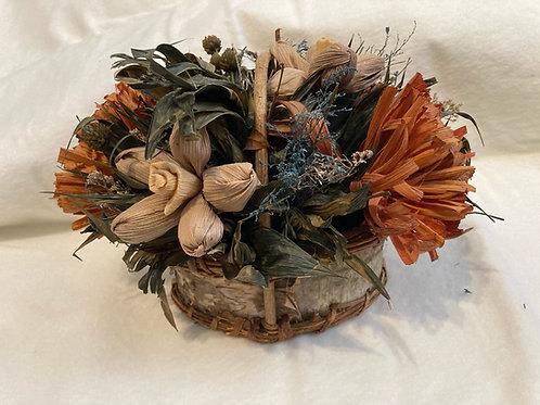 Birch Basket Centerpiece