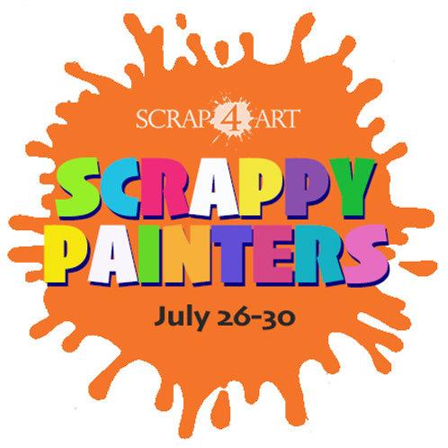 SCRAPPY PAINTERS - July 26-30 / Grades 1-6