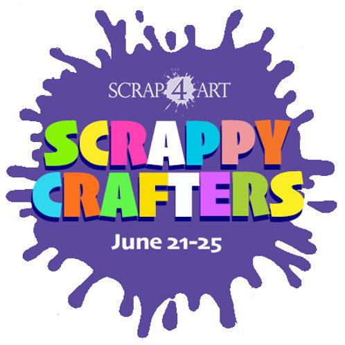 SCRAPPY CRAFTERS  - June 21-25 / Grades 1-6