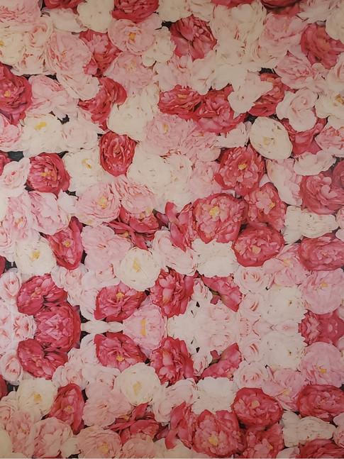 Rose Wall Backdrop