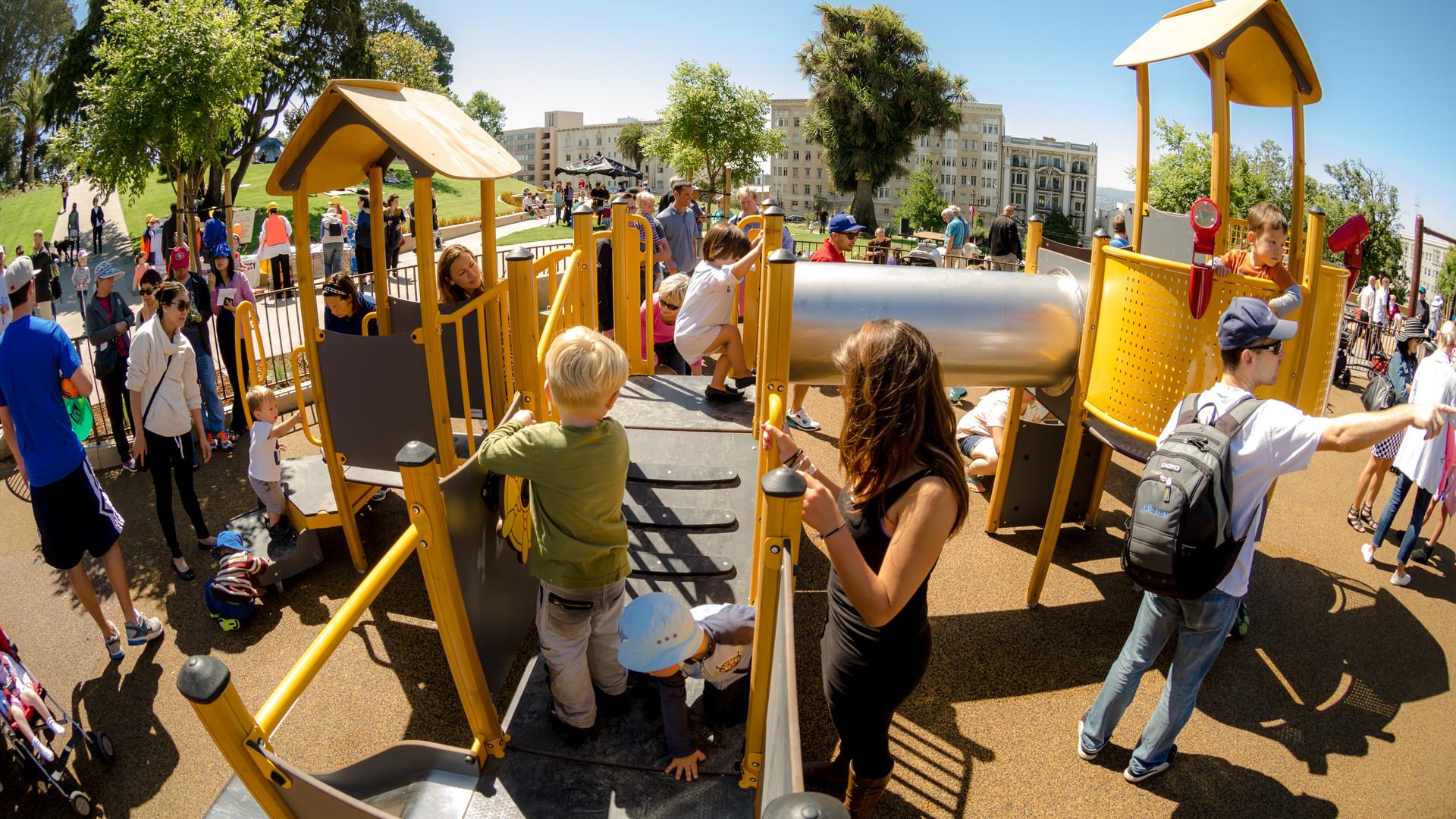 Lafayette Park Preschool Age Playground