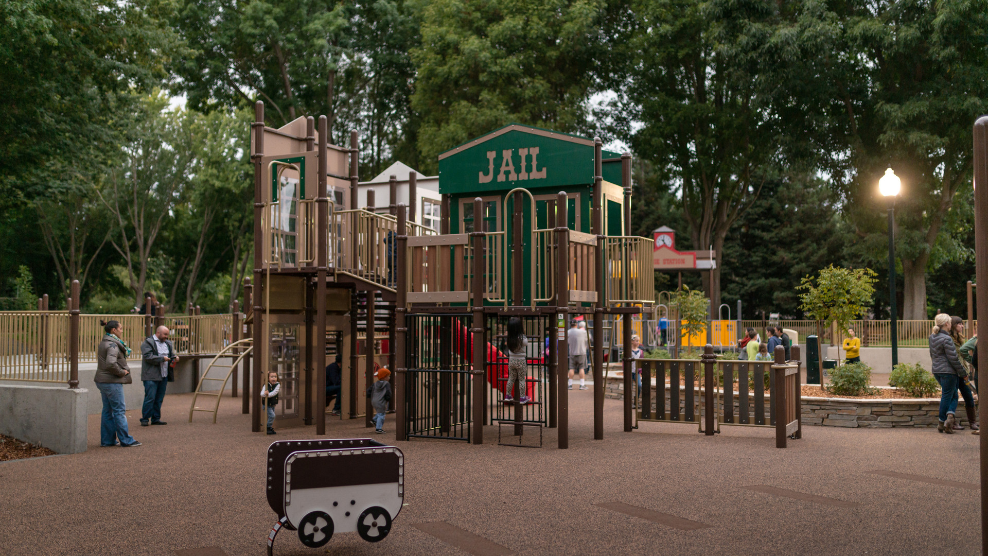 Osage Station Park School Age Playground