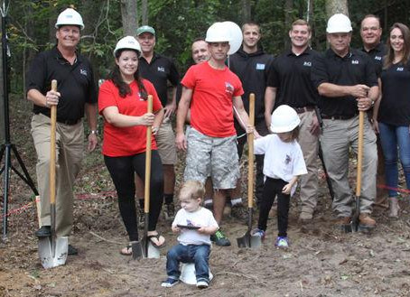 RCI Breaks Ground on SGT. McGuire's HFOT Home