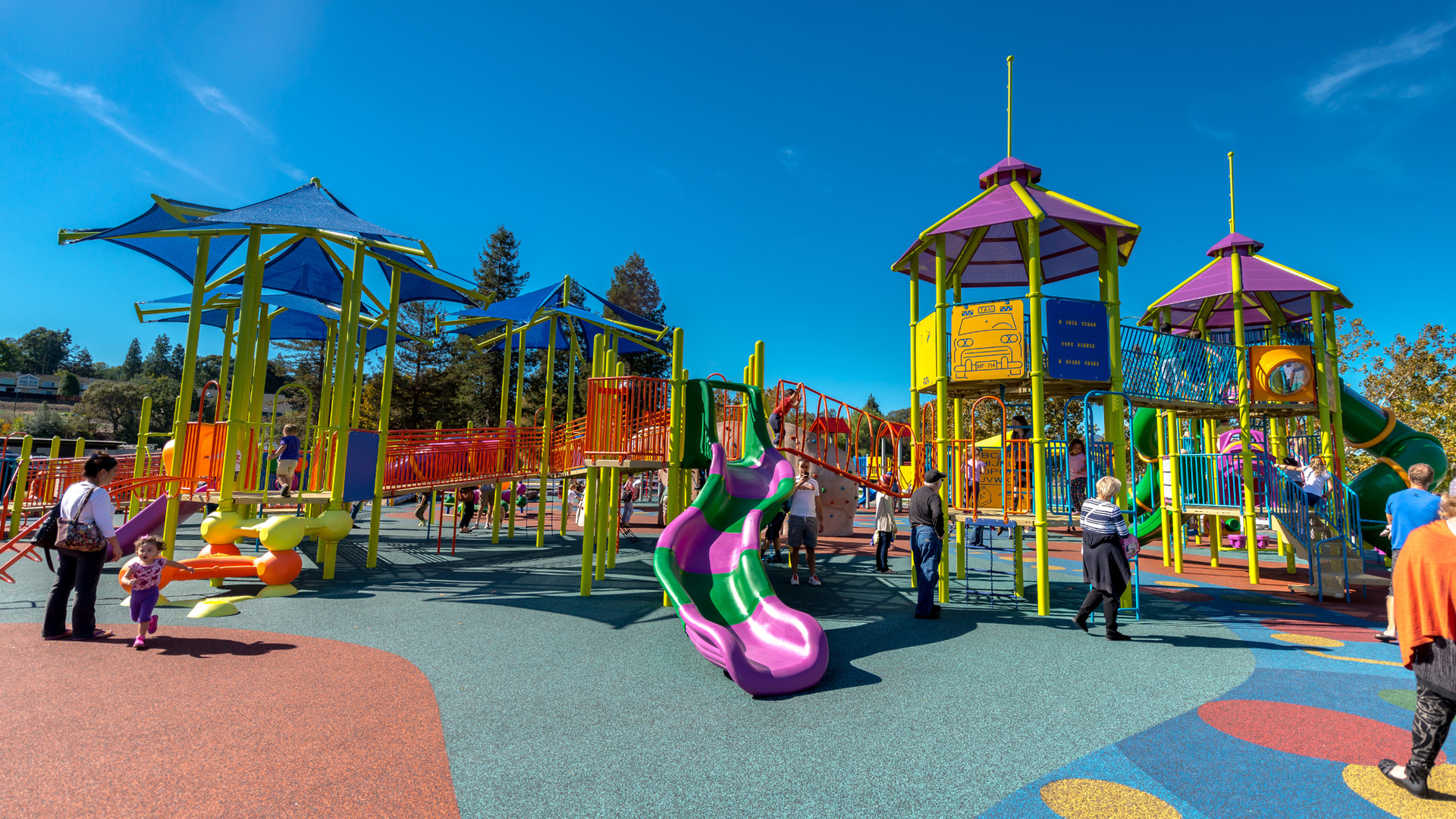 Heather Farm Park School Age Playground