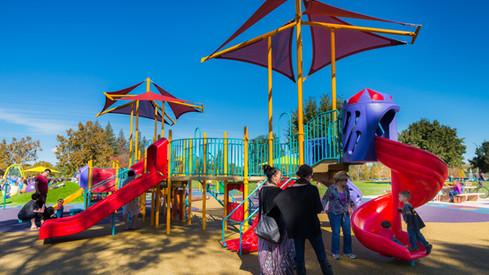 Heather Farm Park Preschool Age Playground