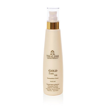 Gold Foam MakeUp Remover