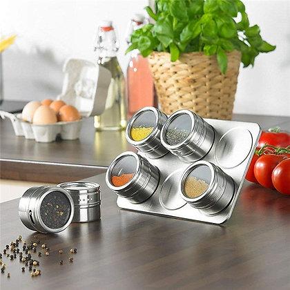 Magnetic Spices Jars Set