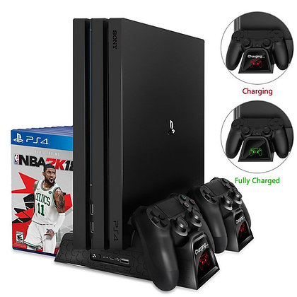 PS4 & Dual Controller Charger Console