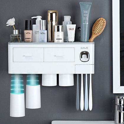 All in One Toothbrush Holder