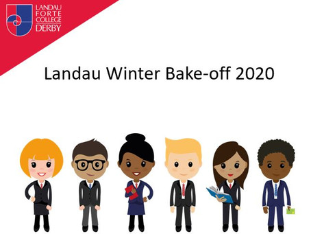 Landau Winter Bake-off 2020