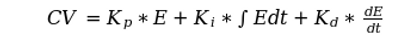 PID Equation - Independent Form