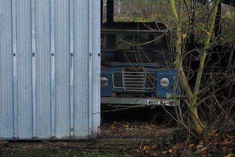 automobile bleufrance Bleu France Land Rover 109 defender série automotive history Classique classic car sale sold Véhicule