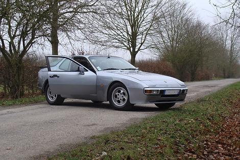 Automobile Bleu France Nord Europe Porshe 944 1986 Turbo Véhicule anciens classique bleufrance achat vente