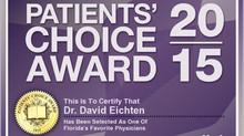 Dr. David Eichten Wins Prestigious Vitals Patients' Choice Award