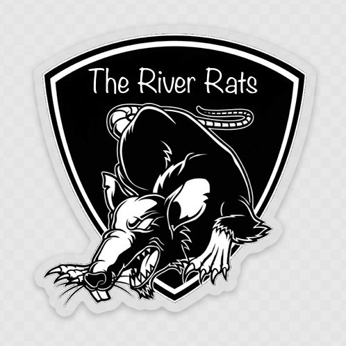 The River Rats Front Adhesive Window Decals