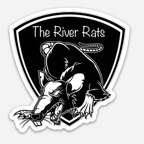 The River Rats Die Cut Stickers