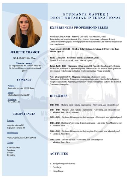 Juliette Chamot