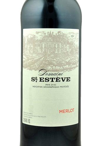 Merlot Domaine St Esteve IGP Pays d'Oc
