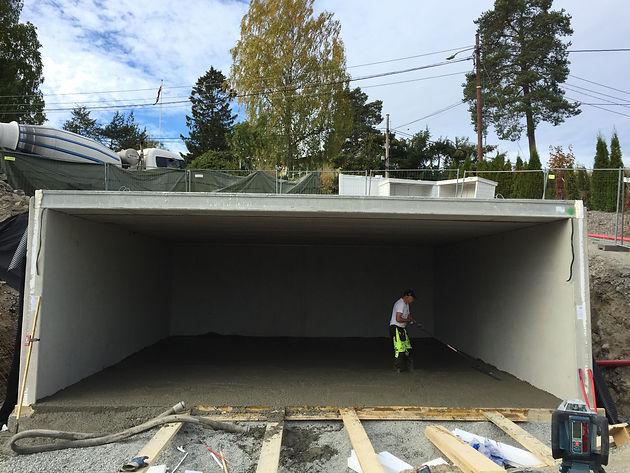 Ultra GARASJE NESØYA | CC Betong AS - betongentreprenør - gulventreprenør QP-22