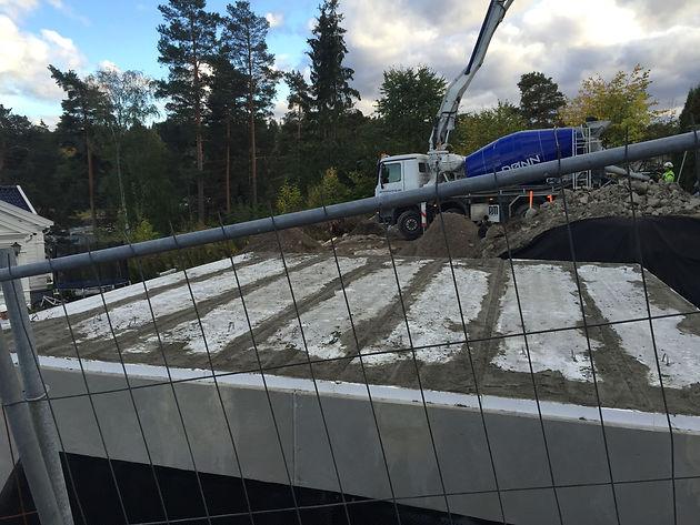 Veldig GARASJE NESØYA | CC Betong AS - betongentreprenør - gulventreprenør LY-74