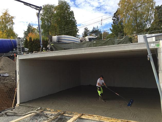 Alvorlig GARASJE NESØYA | CC Betong AS - betongentreprenør - gulventreprenør GB-44