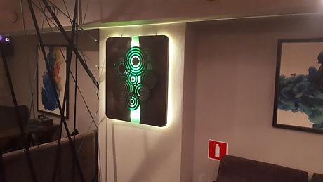 Логотип настенный с подсветкой