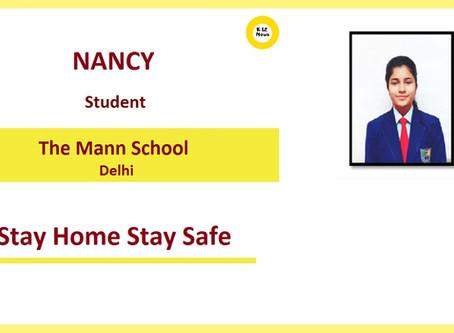 Stay Home Stay Safe – Nancy, The Mann School