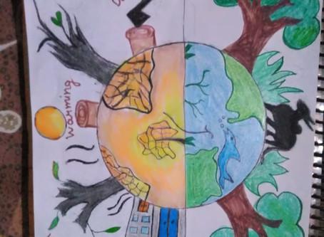 Manava Bhawna Public School organized World Environment Day