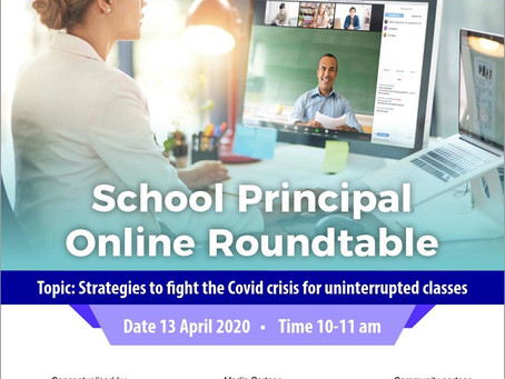 Conccept Kicks Off the Virtual Round table for School Principals