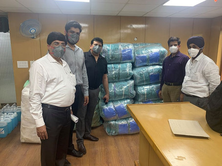 Little Flowers Group of Schools has recently contributed 700 PPE Kits to the Government of NCT Delhi