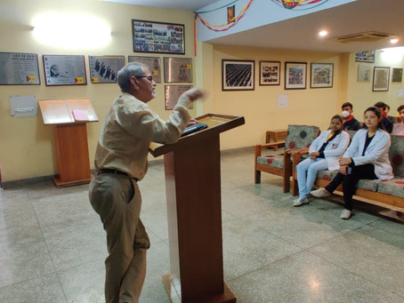 Counselling Sessions about Corona Virus at The Mann School