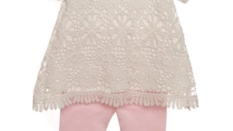 Girls lace top & legging set