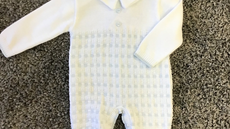 Digby knitted romper