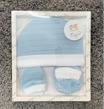 Newborn velvet gift set