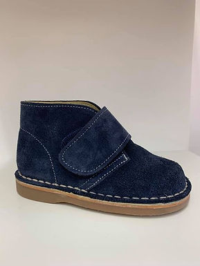 Suede Velcro boots