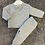 Thumbnail: Dandelion Pom pom jacket & Legging 2 piece
